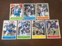 2009 Upper Deck Philadelphia Base Team Set Carolina Panthers