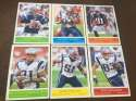 2009 Upper Deck Philadelphia Base Team Set New England Patriots