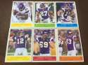 2009 Upper Deck Philadelphia Base Team Set Minnesota Vikings
