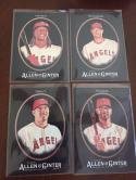 2017 Topps Allen and Ginter X (Black) Team Set w SP Los Angeles Angels