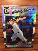 Baseball MLB 2017 Donruss Optic Black #165 Mickey Mantle NM-MT /25 Yankees