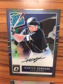 Baseball MLB 2017 Donruss Optic Rated Rookies Signatures Black #19 Hunter Renfroe NM-MT Auto /25 Padres