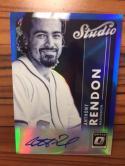 Baseball MLB 2017 Donruss Optic Studio Signatures Blue #18 Anthony Rendon NM-MT Auto /25 Nationals