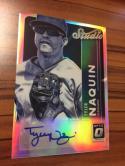 Baseball MLB 2017 Donruss Optic Studio Signatures #10 Tyler Naquin NM-MT Auto Indians