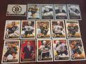 2017-18 Panini NHL Stickers Team Set Boston Bruins