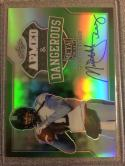 Football NFL 2017 Leaf Metal Draft Armed and Dangerous Green #AD-MT1 Mitch Trubisky MINT Auto 4/5