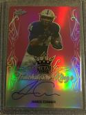 Football NFL 2017 Leaf Metal Draft Touchdown Kings Pink #TK-JC1 James Conner MINT Auto 7/15
