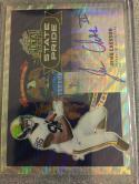 Football NFL 2017 Leaf Metal Draft State Pride Wave #SP-JC1 Jehu Chesson MINT Auto