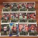 2017 Donruss NFL Team Set With RC Atlanta Falcons   EVAN ENGRAM