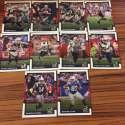 2017 Donruss NFL Team Set With RC New England Patriots
