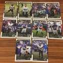 2017 Donruss NFL Team Set With RC Baltimore Ravens