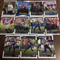 2017 Donruss NFL Team Set With RC Seattle Seahawks