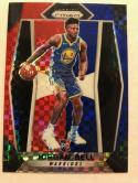 Basketball NBA 2017-18 Panini Prizm Prizms Red White and Blue STARBURST #47 Jordan Bell RC Warriors