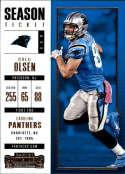 2017 Panini Contenders #6 Greg Olson Carolina Panthers