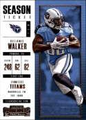 2017 Panini Contenders #24 Delanie Walker Tennessee Titans