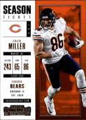 2017 Panini Contenders #26 Zach Miller Chicago Bears