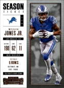 2017 Panini Contenders #30 Marvin Jones Jr. Detroit Lions