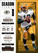 2017 Panini Contenders #31 Aaron Rodgers Green Bay Packers