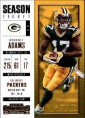 2017 Panini Contenders #33 Davante Adams Green Bay Packers