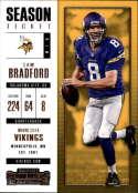2017 Panini Contenders #35 Sam Bradford Minnesota Vikings