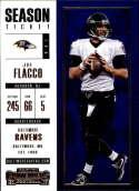 2017 Panini Contenders #37 Joe Flacco Baltimore Ravens