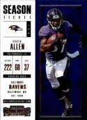 2017 Panini Contenders #38 Buck Allen Baltimore Ravens
