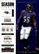 2017 Panini Contenders #39 Terrell Suggs Baltimore Ravens
