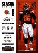 2017 Panini Contenders #44 Myles Garrett RC Rookie Cleveland Browns