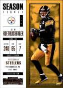 2017 Panini Contenders #46 Ben Roethlisberger Pittsburgh Steelers