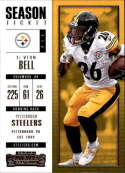 2017 Panini Contenders #47 Leveon Bell Pittsburgh Steelers