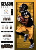 2017 Panini Contenders #48 Antonio Brown Pittsburgh Steelers