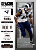 2017 Panini Contenders #54 Robert Woods Los Angeles Rams
