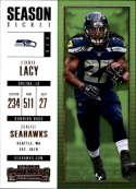 2017 Panini Contenders #60 Eddie Lacy Seattle Seahawks