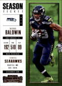 2017 Panini Contenders #61 Doug Baldwin Seattle Seahawks