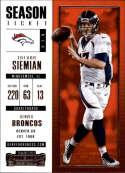 2017 Panini Contenders #62 Trevor Siemian Denver Broncos