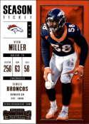2017 Panini Contenders #64 Von Miller Denver Broncos