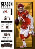 2017 Panini Contenders #66 Alex Smith Kansas City Chiefs