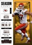 2017 Panini Contenders #68 Travis Kelce Kansas City Chiefs