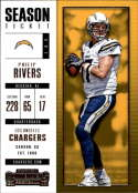 2017 Panini Contenders #69 Philip Rivers San Diego Chargers