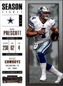 2017 Panini Contenders #76 Dak Prescott Dallas Cowboys