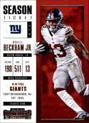 2017 Panini Contenders #81 Odell Beckham Jr. New York Giants