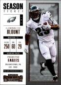 2017 Panini Contenders #84 LeGarrette Blount Philadelphia Eagles