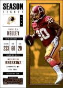 2017 Panini Contenders #87 Robert Kelley Washington Redskins