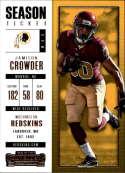 2017 Panini Contenders #88 Jamison Crowder Washington Redskins