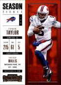 2017 Panini Contenders #89 Tyrod Taylor Buffalo Bills