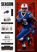 2017 Panini Contenders #90 LeSean McCoy Buffalo Bills