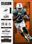 2017 Panini Contenders #93 Jay Ajayi Miami Dolphins