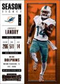 2017 Panini Contenders #94 Jarvis Landry Miami Dolphins