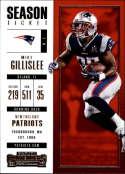 2017 Panini Contenders #98 Mike Gillislee New England Patriots