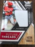 2017 Panini Elite Extra Edition Future Threads Silhouettes FTS-VR Victor Robles SER/399 Washington Nationals